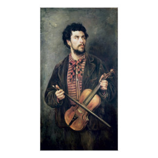 The Violin Player Posters