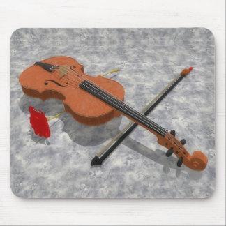 The Violin & The Rose: Custom Mousepad