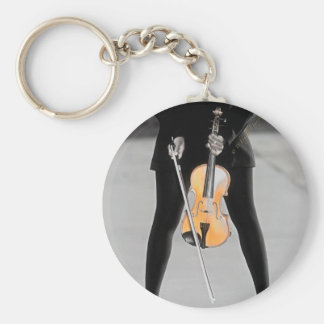 The Violinist Key Chains