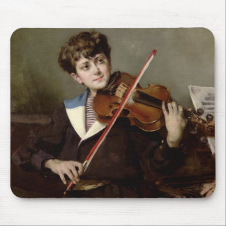 The Violinist Mouse Pads