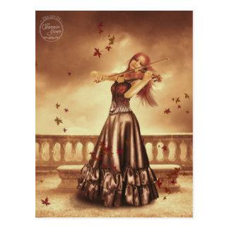 The Violinist (Postcard)