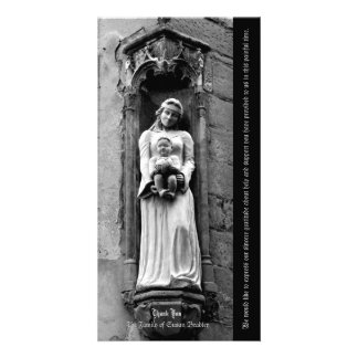 The Virgin and Child 1 Sympathy Thank you Card