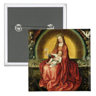 The Virgin and Child 2 Pinback Button