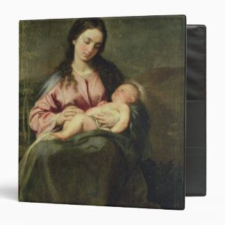The Virgin and Child 3 Ring Binder