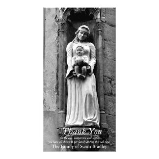 The Virgin and Child 3 Sympathy Thank you Card