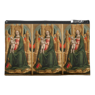 """""""The Virgin and Child"""" accessory bags"""
