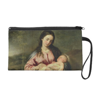 The Virgin and Child Wristlet Clutches