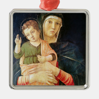 The Virgin and Child Blessing, 1460-70 Metal Ornament