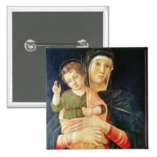 The Virgin and Child Blessing, 1460-70 Pinback Button