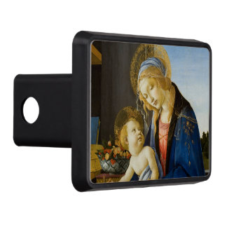 The Virgin and Child by Sandro Botticelli Hitch Cover