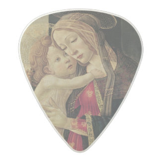 The Virgin and Child, c.1500 Acetal Guitar Pick
