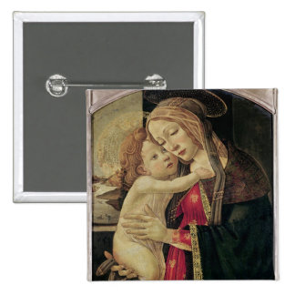 The Virgin and Child, c.1500 Pinback Button