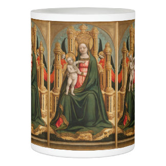 """The Virgin and Child"" Christmas led candle"