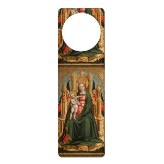 """""""The Virgin and Child"""" door hanger"""