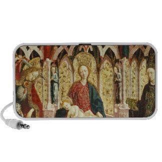 The Virgin and Child Enthroned, c.1475 Mini Speaker
