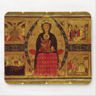 The Virgin and Child Enthroned Mouse Pad