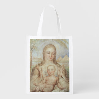The Virgin and Child in Egypt, 1810 (tempera on pa Grocery Bag