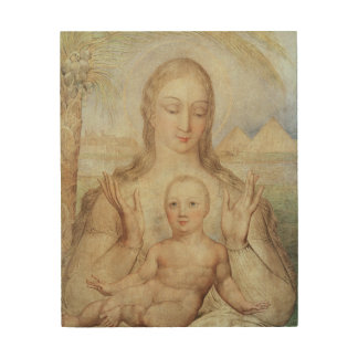 The Virgin and Child in Egypt, 1810 (tempera on pa Wood Print