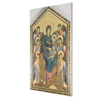 The Virgin and Child in Majesty Canvas Print