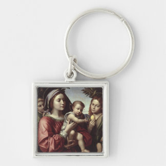 The Virgin and Child Keychains