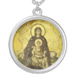 The Virgin and Child Mosaic from the Hagia Sophia Custom Jewelry