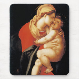 The Virgin and Child Mouse Pad