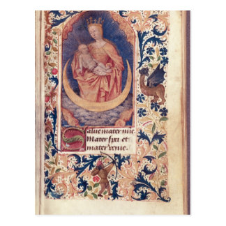 The Virgin and Child Postcard