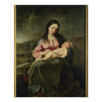 The Virgin and Child Posters