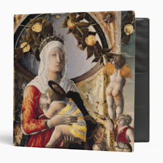 The Virgin and Child Surrounded by Eight Binder
