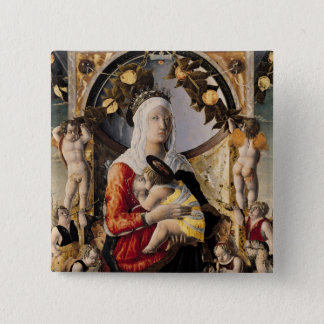 The Virgin and Child Surrounded by Eight Button