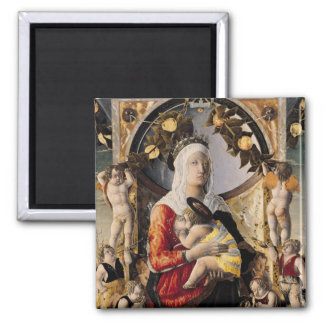The Virgin and Child Surrounded by Eight Magnet