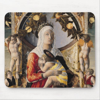 The Virgin and Child Surrounded by Eight Mouse Pad