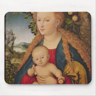 The Virgin and Child under an Apple Tree Mouse Pad