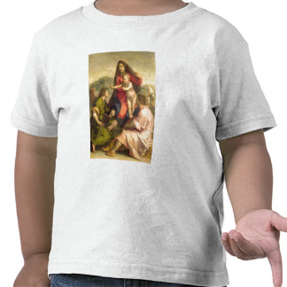 The Virgin and Child with a Saint and an Angel, c. Tees