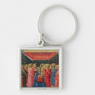 The Virgin and Child with Angels, c.1440-50 Keychain