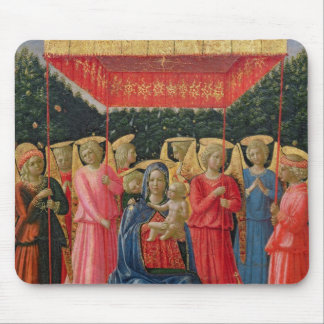The Virgin and Child with Angels, c.1440-50 Mouse Pad