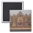 The Virgin and Child with Legendary Scenes Magnet