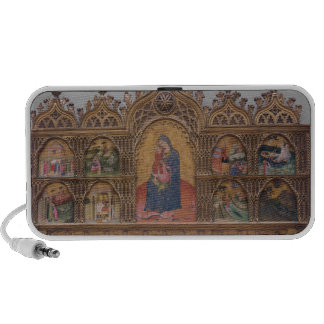 The Virgin and Child with Legendary Scenes Mp3 Speakers