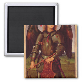 The Virgin and Child with SS. Raphael and Refrigerator Magnet