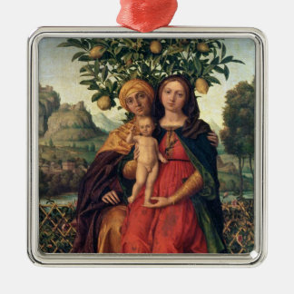 The Virgin and Child with St Anne, 1510-18 Metal Ornament