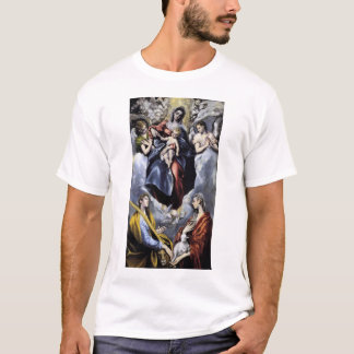 The Virgin and Child with St Martina and St Agnes T-Shirt