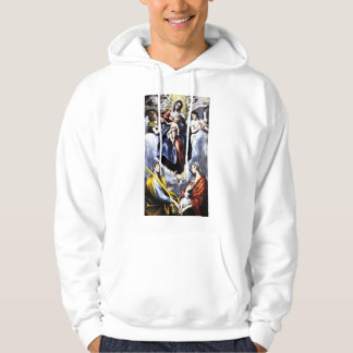 The Virgin and Child with St. Martina Hoodie