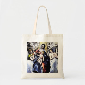 The Virgin and Child with St. Martina Tote Bag