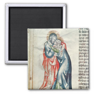 The Virgin and Christ, from the Passion of 2 Inch Square Magnet