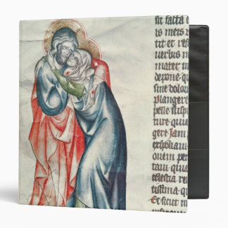 The Virgin and Christ, from the Passion of Binder