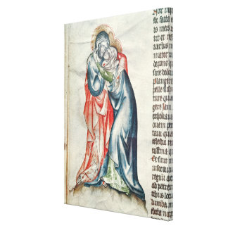 The Virgin and Christ, from the Passion of Canvas Print