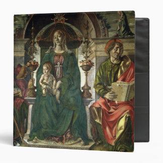 The Virgin and Saints, 1474 Binder