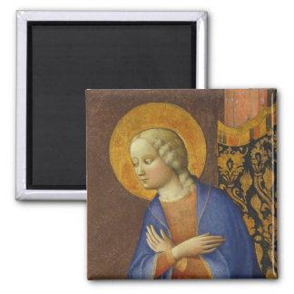 The Virgin Annunciate, c. 1430 (tempera on panel) Refrigerator Magnet