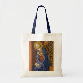 The Virgin Annunciate, c. 1430 (tempera on panel) Tote Bag
