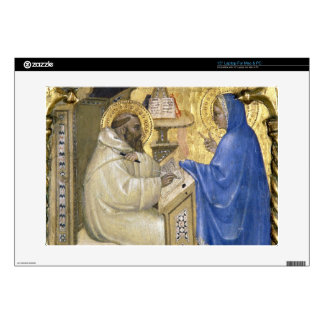 The Virgin appearing to St. Bernard, detail from a Laptop Skin